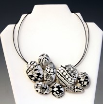 Zentangle Neckpiece