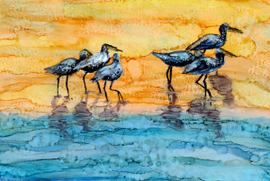 Alene Sirott-Cope Beach Birds